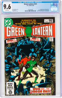 Green Lantern #141 (DC, 1981) CGC NM+ 9.6 White pages