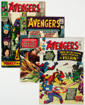 Silver Age (1956-1969):Superhero, The Avengers Group of 7 (Marvel, 1965-81).... (Total: 7 Comic Books)