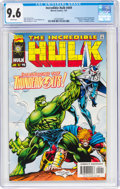 Modern Age (1980-Present):Superhero, The Incredible Hulk #449 (Marvel, 1997) CGC NM+ 9.6 White pages....