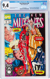 The New Mutants #98 (Marvel, 1991) CGC NM 9.4 White pages