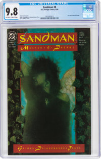 Sandman #8 (DC, 1989) CGC NM/MT 9.8 Off-white to white pages