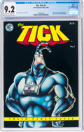 The Tick #1 (New England Comics, 1988) CGC NM- 9.2 Off-white to white pages