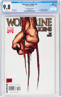 Wolverine Origins #10 Retailer Incentive Edition (Marvel, 2007) CGC NM/MT 9.8 White pages