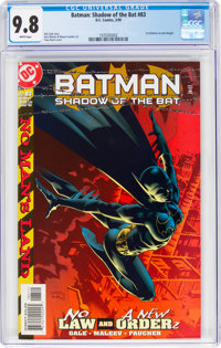 Batman: Shadow of the Bat #83 (DC, 1999) CGC NM/MT 9.8 White pages