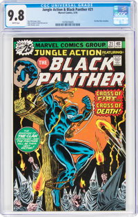 Jungle Action #21 (Marvel, 1976) CGC NM/MT 9.8 White pages