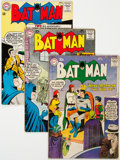 Silver Age (1956-1969):Superhero, Batman Group of 9 (DC, 1959-68) Condition: Average VG.... (Total: 9 Comic Books)
