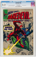 Silver Age (1956-1969):Superhero, Daredevil #35 (Marvel, 1967) CGC VF 8.0 Off-white pages....