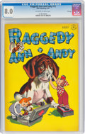 Golden Age (1938-1955):Cartoon Character, Raggedy Ann and Andy #15 File Copy (Dell, 1947) CGC VF 8.0 Off-white to white pages....