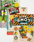 Golden Age (1938-1955):Adventure, Big Shot Comics #11, 30, and 58 Group (Columbia, 1941-45) Condition: Average VG.... (Total: 3 Comic Books)