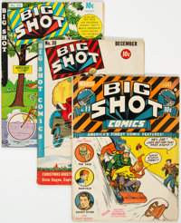 Big Shot Comics #11, 30, and 58 Group (Columbia, 1941-45) Condition: Average VG.... (Total: 3 Comic Books)