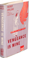 Books:Mystery & Detective Fiction, Mickey Spillane. Vengeance is Mine! New York: E. P. Dutton & Company, 1950. First edition. Inscribed by the auth...