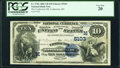 Coshocton, OH - $10 1882 Value Back Fr. 576b The Coshocton National Bank Ch. # (M)5103 PCGS Very Fine 2