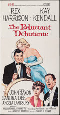 """Movie Posters:Comedy, The Reluctant Debutante (MGM, 1958). Folded, Very Fine-. Three Sheet (41"""" X 79""""). Comedy.. ..."""