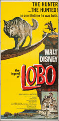Movie Posters:Adventure, The Legend of Lobo (Buena Vista, 1962). Folded, Very Fine-...