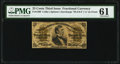 Fractional Currency:Third Issue, Fr. 1300 25¢ Third Issue PMG Uncirculated 61.. ...