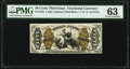 Fractional Currency:Third Issue, Fr. 1344 50¢ Third Issue Justice PMG Choice Uncirculated 63.. ...