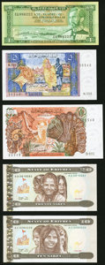 A Group of Assorted Issues from Algeria, Angola, Eritrea, and Ethiopia.About Uncirculated to Crisp Uncirculated. ... (To...