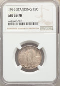 Standing Liberty Quarters: , 1916 25C MS66 FH NGC. Pop (22/3), CDN Collector Price ($51400.00), CCDN Price ($37500.00), CAC (4/2)