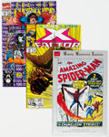 Modern Age (1980-Present):Miscellaneous, Modern Age Superhero Comics Short Box Group (Various Publishers, 1980s-2000s) Condition: Average FN....