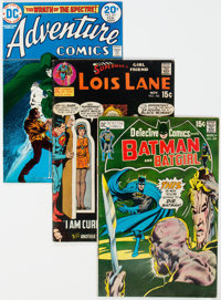 DC Bronze Age Short Box Group (DC, 1970s) Condition: Average VG