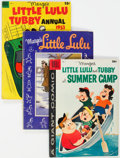 Golden Age (1938-1955):Humor, Marge's Little Lulu-Related Group of 16 (Dell, 1950s) Condition: Average VG-.... (Total: 16 Comic Books)