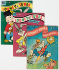 Golden Age (1938-1955):Cartoon Character, Looney Tunes and Merrie Melodies Comics Short Box Group (Dell, 1945-60) Condition: Average VG....