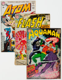 DC Silver Age Short Box Group (DC, 1960s) Condition: Average VG-