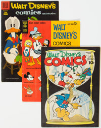 Walt Disney's Comics and Stories Short Box Group (Dell, 1944-69) Condition: Average VG