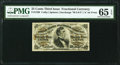 Fractional Currency:Third Issue, Fr. 1298 25¢ Third Issue PMG Gem Uncirculated 65 EPQ.. ...