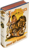 Books:First Editions, Edgar Rice Burroughs. The Lad and the Lion. Tarzana: Edgar Rice Burroughs, Inc., [1938]. First edition. With slip ...