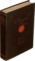 Books:First Editions, Edgar Rice Burroughs. A Princess of Mars. Chicago: A. C. McClurg & Co., 1917. First edition....