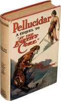 """Books:First Editions, Edgar Rice Burroughs. Pellucidar. A sequel to """"At the Earth's Core"""" relating the further adventures of David Innes..."""