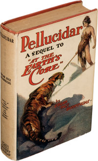 """Edgar Rice Burroughs. Pellucidar. A sequel to """"At the Earth's Core"""" relating the further adventures of David I..."""