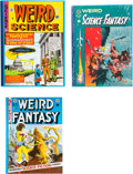 """Books:Ephemera, EC Library """"Weird"""" Related Group of 7 Books (EC, 1980s).... (Total: 7 Items)"""