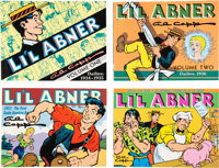 Al Capp's Li'l Abner Dailies Trade Paperback Volumes 1-27 Near Complete Run (Kitchen Sink Press, 1988-98) Conditio... (T...
