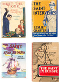 "Books:Hardcover, Leslie Charteris ""The Saint"" Hardcover Editions Box Lot (Various, 1930s-50s)...."