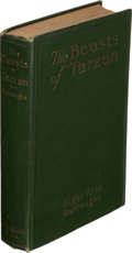 Books:First Editions, Edgar Rice Burroughs. The Beasts of Tarzan. Chicago: A. C. McClurg & Co., 1916. First edition....