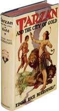 Books:First Editions, Edgar Rice Burroughs. Tarzan and the City of Gold. Tarzana: Edgar Rice Burroughs, Inc., [1933]. First edition....