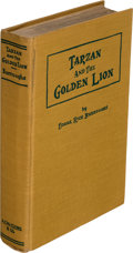 Books:First Editions, Edgar Rice Burroughs. Tarzan and the Golden Lion. Chicago: A. C. McClurg & Co., 1923. First edition.... (Total: 3 Items)