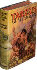 Books:First Editions, Edgar Rice Burroughs. Tarzan and the Leopard Men. Tarzana: Edgar Rice Burroughs, Inc., [1935]. First edition....