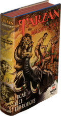 Books:First Editions, Edgar Rice Burroughs. Tarzan the Magnificent. Tarzana: Edgar Rice Burroughs, Inc., [1939]. First edition....