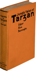 Books:First Editions, Edgar Rice Burroughs. Jungle Tales of Tarzan. Chicago: A. C. McClurg & Co., 1919. First edition....