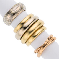 Gold Rings, Pomellato, Theo Fennel, & James Binnion ... (Total: 3 Items)