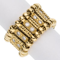 Diamond, Gold Ring, Elizabeth Gage, English