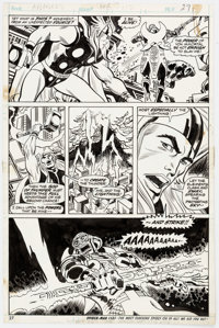 Don Heck and Frank Bolle Avengers #112 Story Page 19 Original Art (Marvel, 1973)