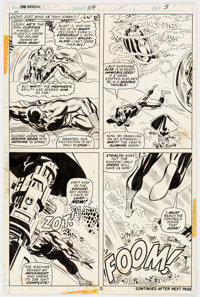 Bob Brown and Don Heck Avengers #119 Story Page 3 Original Art (Marvel, 1974)