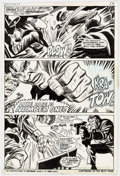 Original Comic Art:Panel Pages, George Tuska and Billy Graham Hero for Hire #10 Story Page 17 Original Art (Marvel, 1973)....