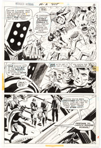 Don Heck and Bob Oksner Wonder Woman #205 Story Page 12 Original Art (DC, 1973)