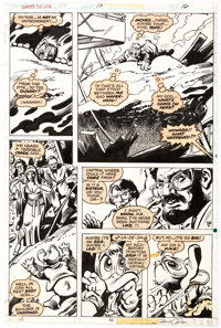 Gene Colan and Klaus Janson Howard the Duck #15 Story Page 10 Original Art (Marvel, 1977)