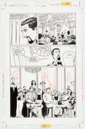 Original Comic Art:Panel Pages, Dave Taylor and Robert Campanella Batman and Superman: World's Finest #1 Story Page 1 Origin...
